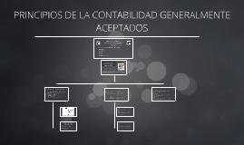 PRINCIPIOS DE LA CONTABILIDAD GENERALMENTE ACEPTADOS