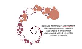 Discursos y prácticas de autocuidado en Trabajadores Sociale