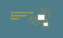 03.03 Periodic Trends