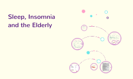 Insomnia and the Elderly