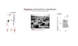 Regimes Autocráticos Capitalistas