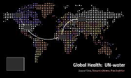 Global Health:  UN-water