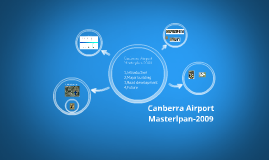Canberra Airport Masterplan-2009