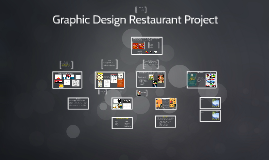 Graphic Design Restaurant Project