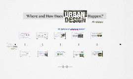 Copy of 'Where and How Does Urban Design Happen?'