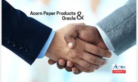 Acorn & Oracle 11.6.15