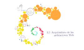 Copy of 2.1 Arquitectura de las aplicaciones Web