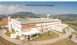 MANUTENÇÃO BARRY CALLEBAUT - EXTREMA