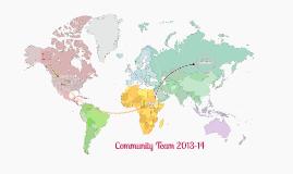 Community Team 2013-14