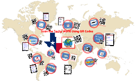 Copy of Scan the Techy World Using QR Codes