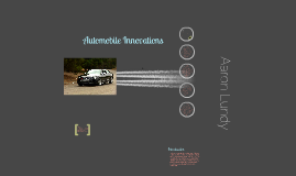 Automobile Innovations