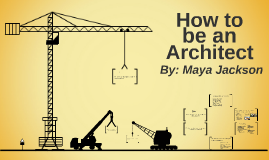 How to be an architect