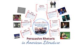 Copy of Persuasive Rhetoric