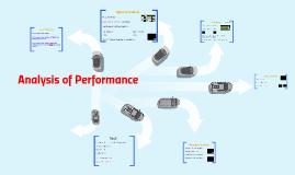 Analysis of performance