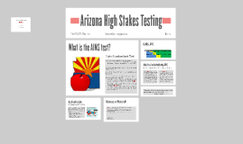 Arizona High Stakes Testing