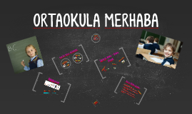 """2016-17 5. Sınıflar """"ORTAOKULA MERHABA"""" Konulu Söyleşi Sunumu"""