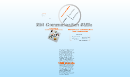 BIG Communication Skills