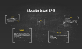 Educación Sexual: EP-B