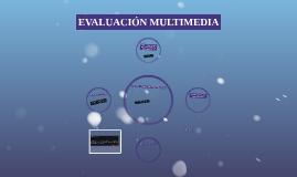 Evaluación Multimedia