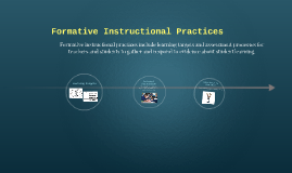 Copy of Formative Instructional Practices