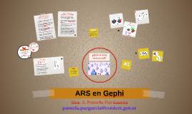 ARS en Gephi