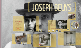 Copy of JOSEPH BEUYS