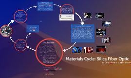 Silica Fiber Optic - Materials Cycle