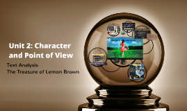 Unit 2: Character and Point of Veiw