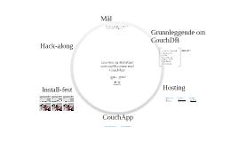Lettvinte og skalerbare web-applikasjoner med CouchApp