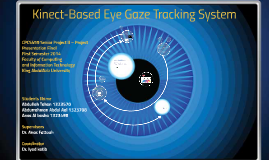 Copy of Kinect-Based Eye Gaze Tracking System