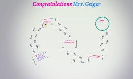 Congratulations Mrs. Geiger
