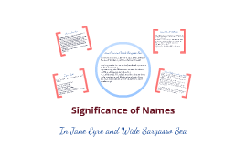 significance of s in jane eyre and wide sargasso sea by elaine  significance of s in jane eyre and wide sargasso sea by elaine day on prezi
