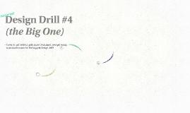 COM 462:  Design Drill #4