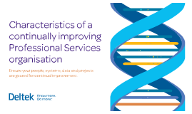 Characteristics of a continually improving Professional Services organisation
