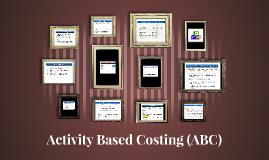 Rehnu : Activity Based Costing (ABC)