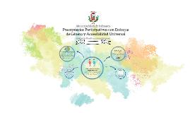 Presupuestos Participativos Municipalidad de Palmares