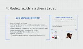 4.Model with mathematics.