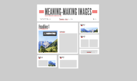 MEANING-MAKING IMAGES