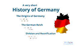 A very short History of Germany