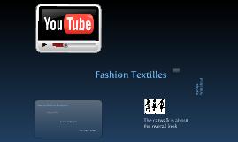 Fashion Textilles