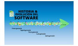 Historia y evolución del software