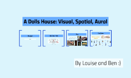 A Dolls House: Visual, Spatial, Aural