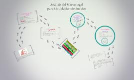 Análisis del Marco legal para Liquidación de Sueldos