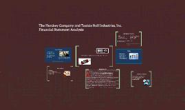 Copy of Financial Statement Analysis-Hershey & Tootsie