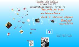 Basic Lab Safety
