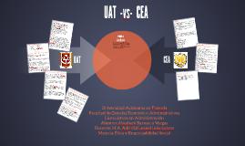 UAT  -vs-  CEA