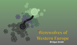 Werewolves of Western Europe