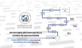 SECRETARIA ANTIDROGAS DE LA CIUDAD DE SAN SALVADOR