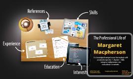 Desktop Prezumé by margaret macpherson