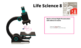 Life Science 8 - Back to School Night